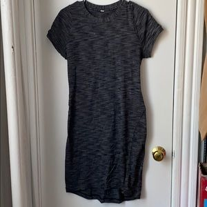 Lululemon slim fit grey dress